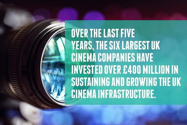 Cinema chains are constantly improving their infrastructure