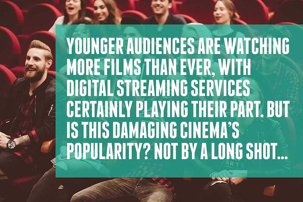 Cinemas popularity is not being damaged by streaming services-1
