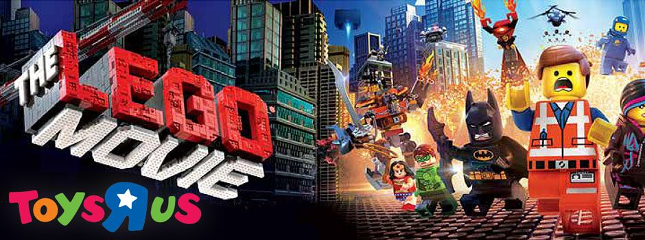 Toys R Us and Lego Cinema Ticket Promotion by Filmology