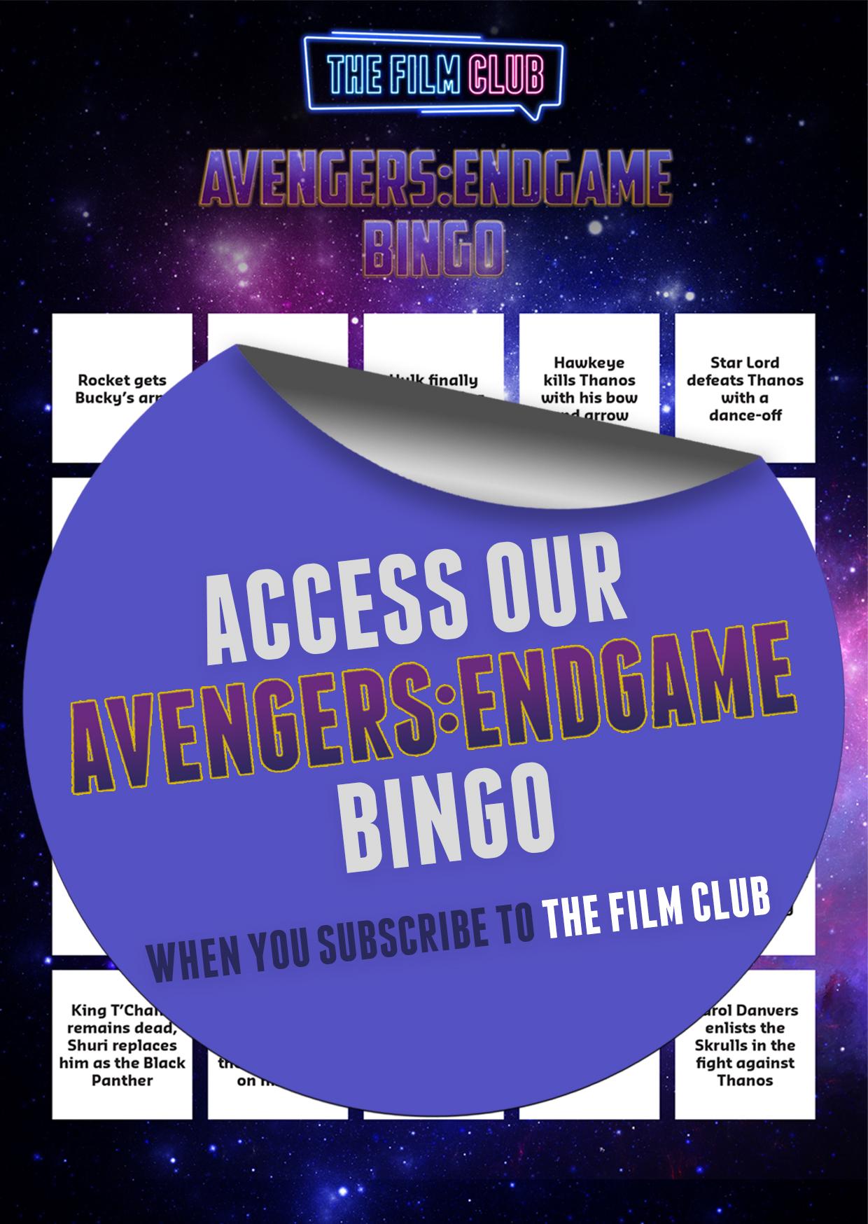 Bingo with Sticker