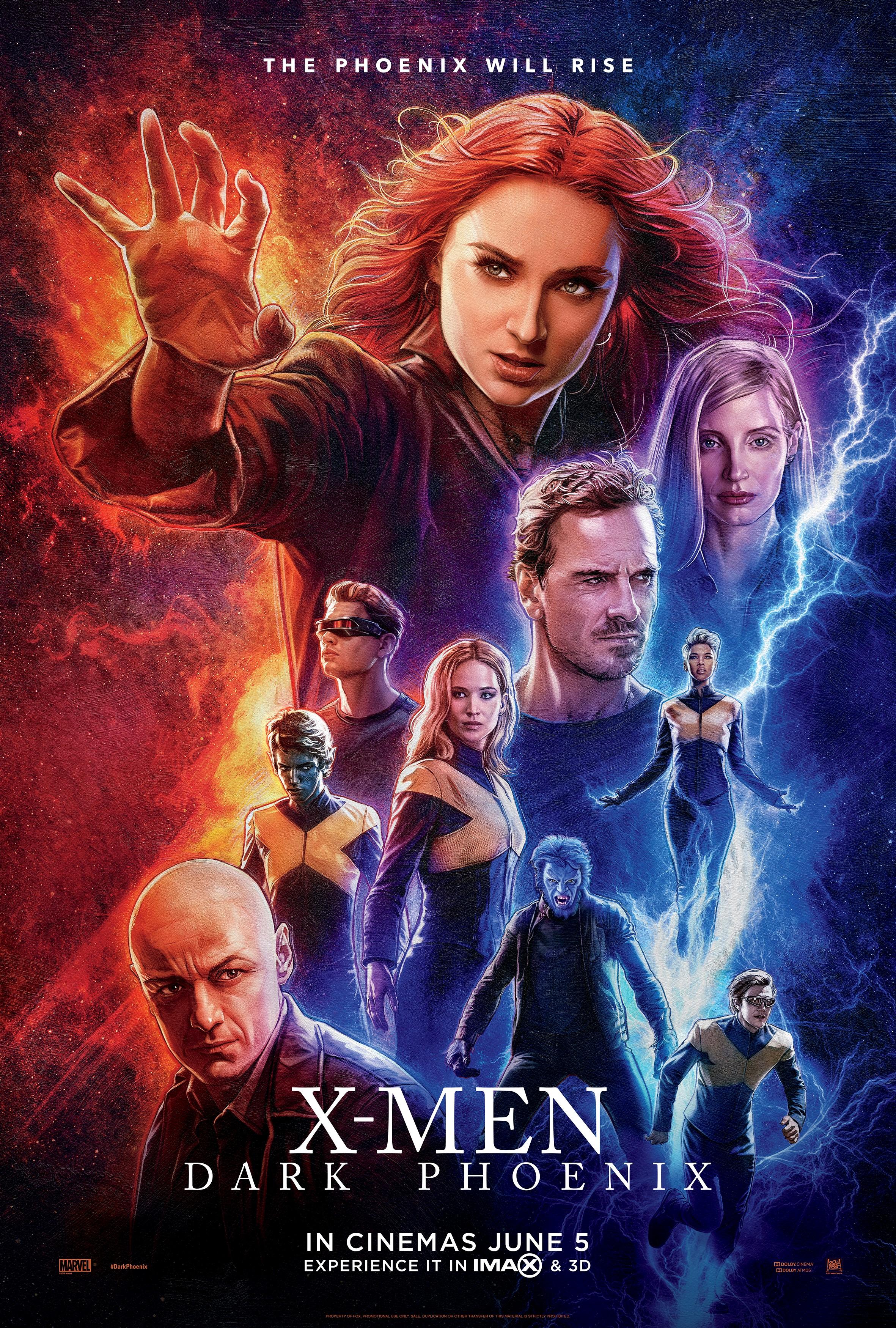 X-MEN: DARK PHOENIX - IN CINEMAS NOW