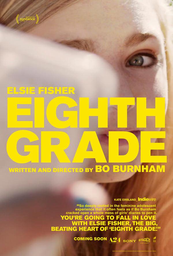 EIGHTH GRADE - IN CINEMAS 26TH APRIL