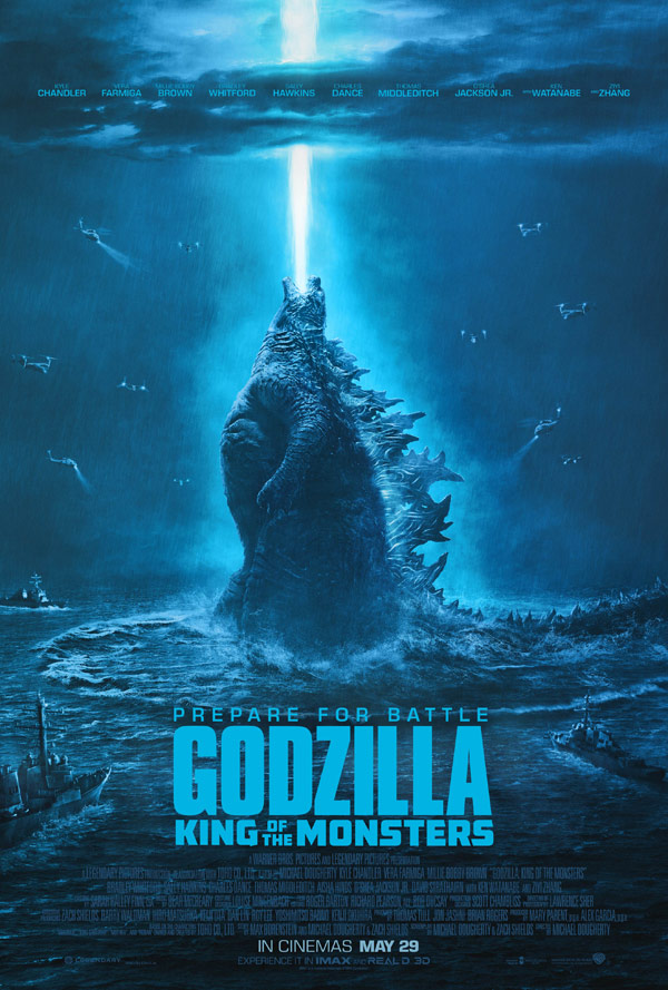 GODZILLA: KING OF THE MONSTERS - IN CINEMAS 29TH MAY