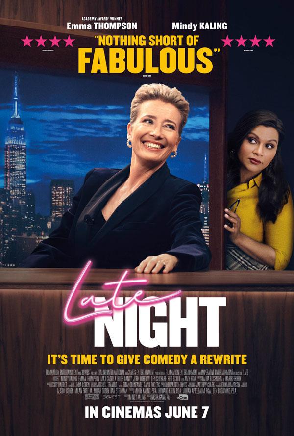 LATE NIGHT - IN CINEMAS 7TH JUNE