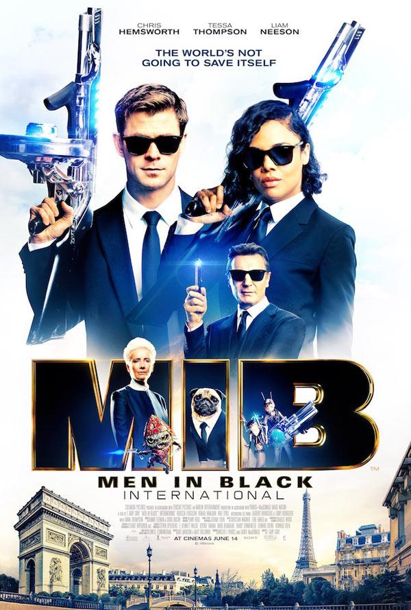 MEN IN BLACK: INTERNATIONAL - IN CINEMA 14TH JUNE