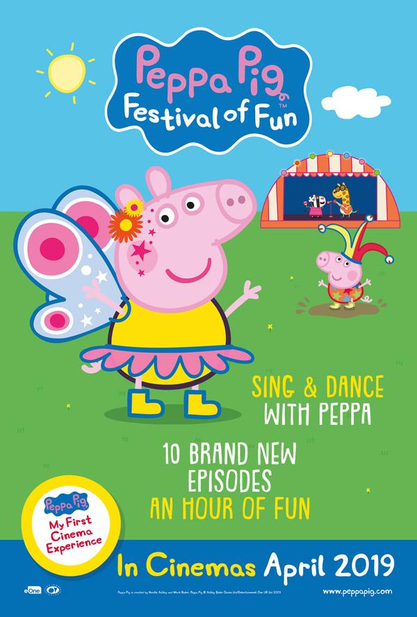 PEPPA PIG: FESTIVAL OF FUN - IN CINEMAS NOW