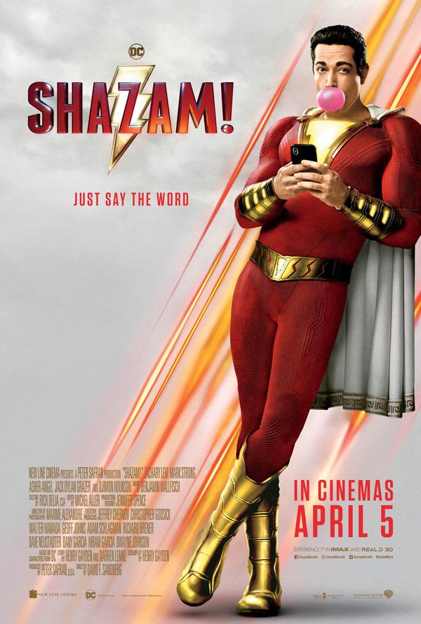 SHAZAM! - IN CINEMAS NOW